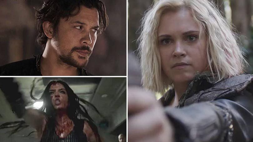 Seizoen 5 trailer The 100