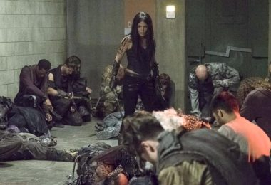 S05E02 Red Queen The 100 Octavia